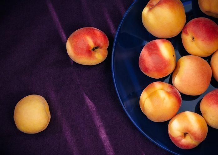 Meruňky na talíři